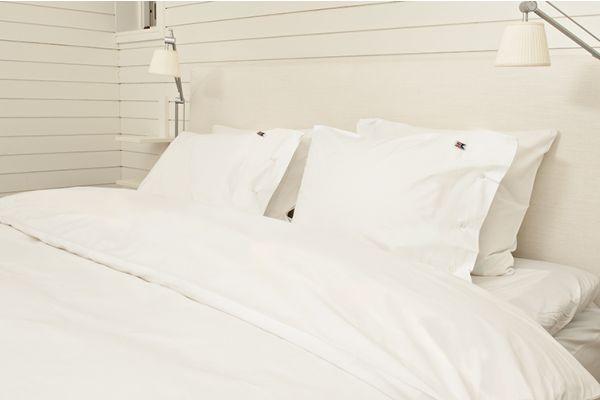 Percale Plain White 4-delset (2st 150x210 + 2st 50x60)