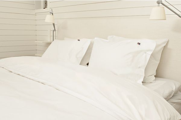 Bäddset Percale Plain White