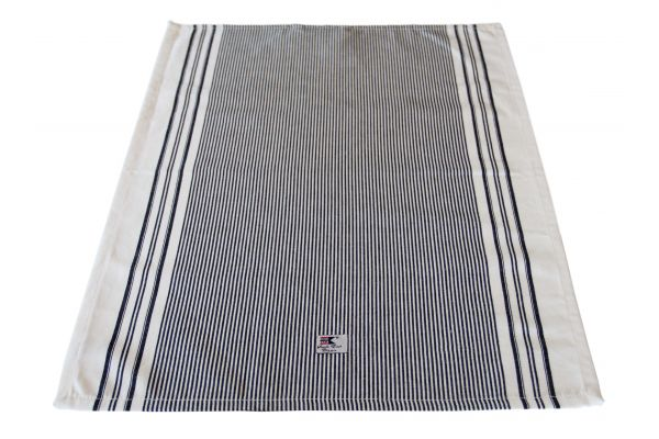 Striped Oxford kitchen towel