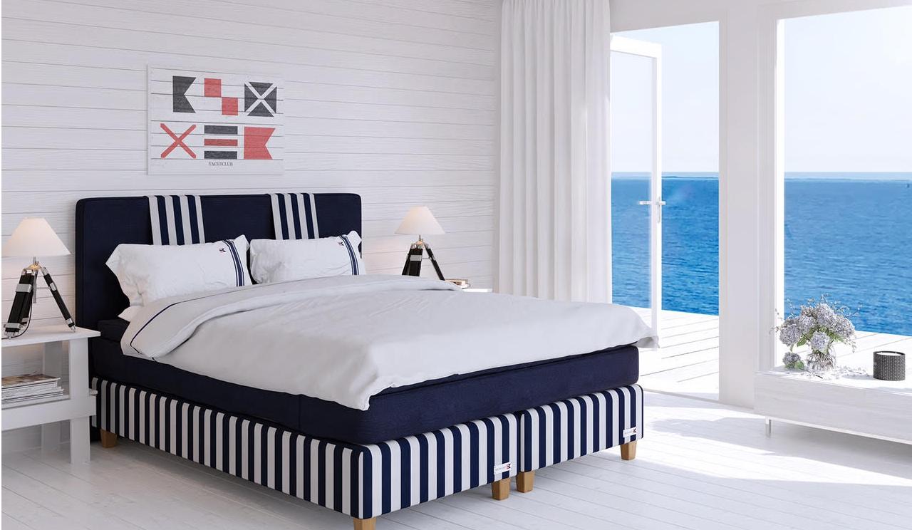 Saltö Block Stripe säng